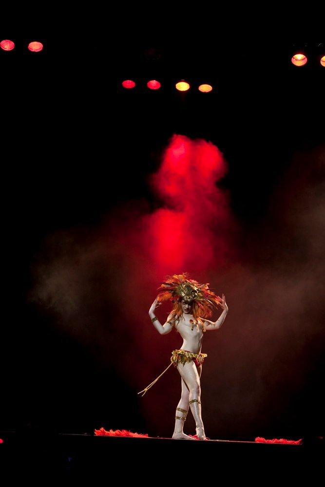 Lucille Spielfuchs Lioness Theatre Stage Burlesque