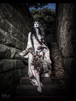 anti-beauty butoh stairs